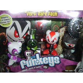 Very Rare Pack Numbered Limited Edition U.B. Funkeys Dream State Figure Set - Sequentially Numbered Limited Edition