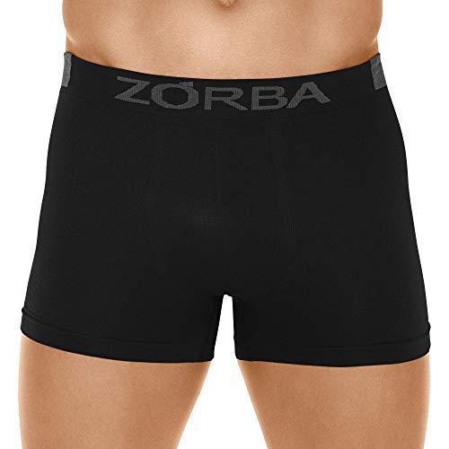 Cueca Boxer Microfibra Extreme,Zorba,Masculino,Preto,P