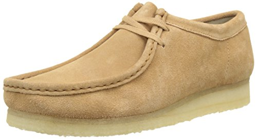 Clarks Originals Wallabee, Mocassini Uomo Beige (Fudge Suede)