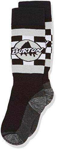 Burton Boy's Emblem Snow Socks True Black Size M/L US 2-4 ()