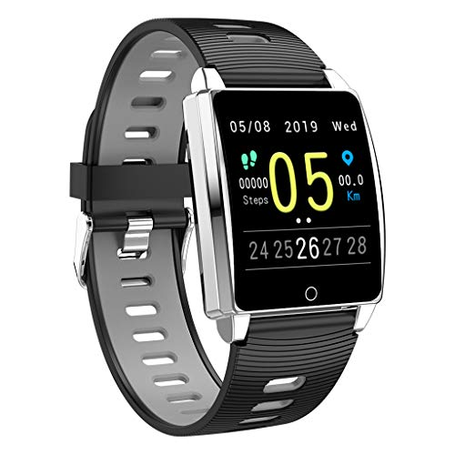 Bchance Activity Trackers Health Exercise Watch with Heart Rate Monitor, Smart Watch with Sleep Monitor Blood Pressure Smart Fitness Bands Calorie Step Counter, Pedometer Walking for Men Women Kids