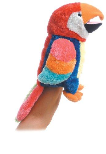 Aurora World Hand Puppet Petey Parrot 12″