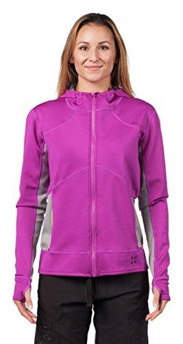 Level Six Women's Sombrio Neoprene SUP Jacket, Small, Aubergine
