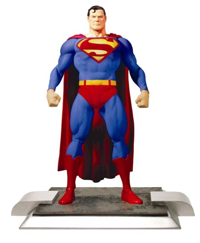 DC Direct Justice League Alex Ross Series 1 Action Figure Superman (Alex Ross Action Figures)