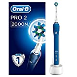 Oral B Oral-B Pro 2000 Crossaction Electric Rechargeable Toothbrush Powered