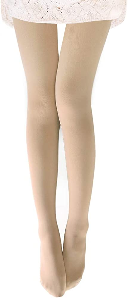VERO MONTE Womens Opaque Fleece Lined Tights - Thermal Winter Tights
