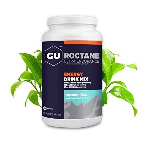 GU Energy Roctane Ultra Endurance Energy Drink Mix, 3.44-Pound Jar, Summit Tea