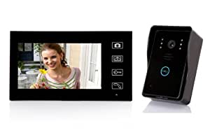 "Dragonpad® 7"" TFT Color Display Wired Video Door Phone Doorbell Intercom System Night Vision"