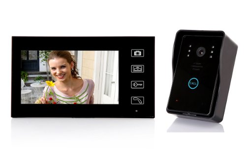 Dragonpad® 7'' TFT Color Display Wired Video Door Phone Doorbell Intercom System Night Vision by Dragonpad