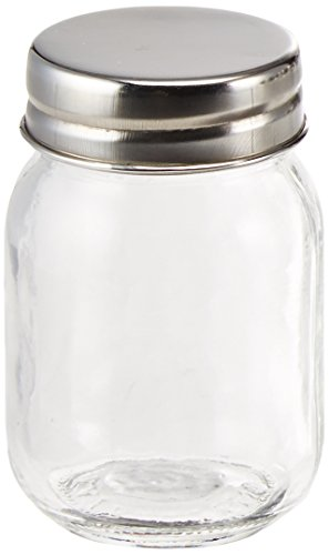 Kate Aspen Mini Glass Mason Jar Set, Party Favors, Party Decor, Arts and Crafts, Set of 12 -