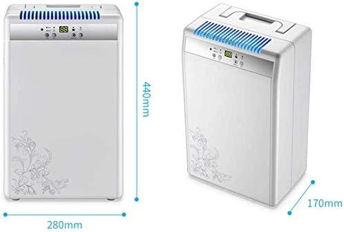 Woodtree Deshumidificador portátil Pantalla LED Home secador de ...