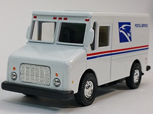 USPS United States Postal Service White Delivery Truck 1/43 Scale Mail Truck