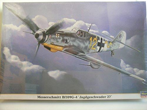 Hasegawa Models---1/32 Scale German WW II Bf 109G-4