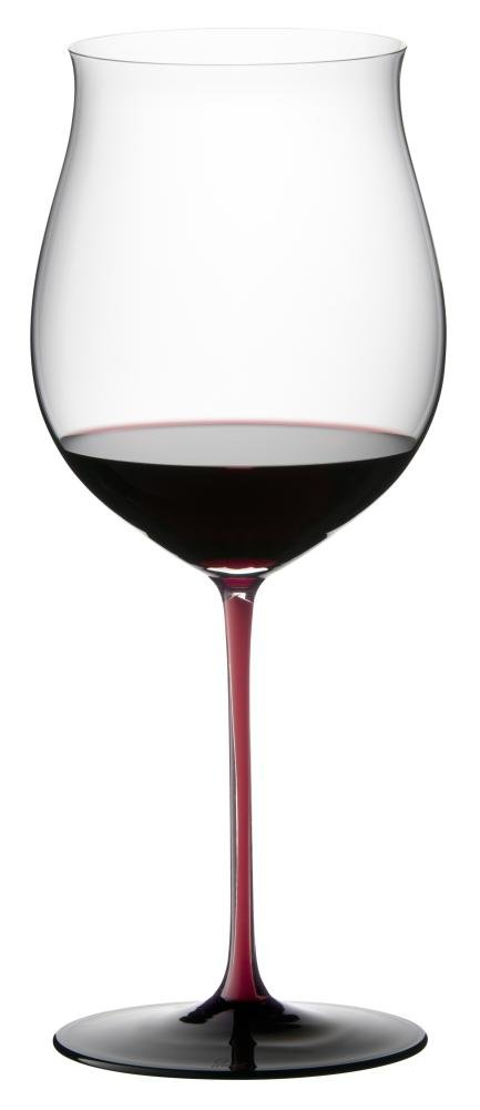 Riedel Sommeliers Black Series Burgundy Grand Cru Glass, Red/Black