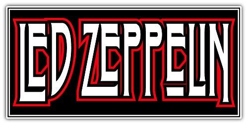 - Led Zeppelin Logo Sticker Car Bumper Decal 6'' X 3''