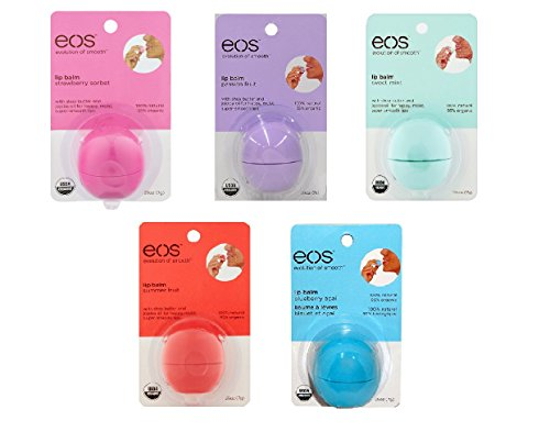 Eos Lip Balm 5 Pack