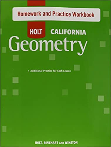 Amazon holt geometry california homework and practice workbook holt geometry california homework and practice workbook geometry 1st edition fandeluxe Choice Image