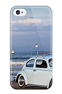 Myra Fraidin's Shop 3857568K47918065 Ideal Case Cover For Iphone 4/4s(volkswagen Beetle 9), Protective Stylish Case