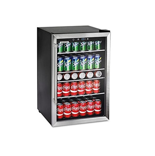 glass beverage refrigerator - 1