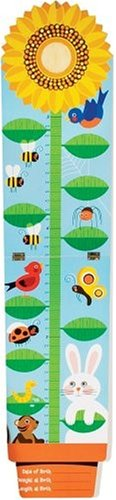 Hand Painted Wooden Growth Charts (Sunflower & Friends Growth Chart)