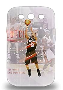 Awesome Galaxy Defender Tpu Hard 3D PC Case Cover For Galaxy S3 NBA San Antonio Spurs Tony Parker #9 ( Custom Picture iPhone 6, iPhone 6 PLUS, iPhone 5, iPhone 5S, iPhone 5C, iPhone 4, iPhone 4S,Galaxy S6,Galaxy S5,Galaxy S4,Galaxy S3,Note 3,iPad Mini-Mini 2,iPad Air )