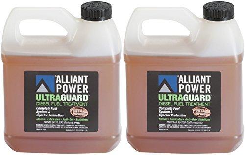 Alliant Power ULTRAGUARD Diesel Fuel Treatment - 2 Pack of 64 oz Jugs # -