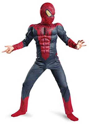 Spider-Man Movie Muscle Kids Costume