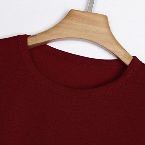 Damen Rosso Vivo Donna Shirt155 Bekleidung SANFASHION Ballerine SANFASHION ncqWO8TRUP