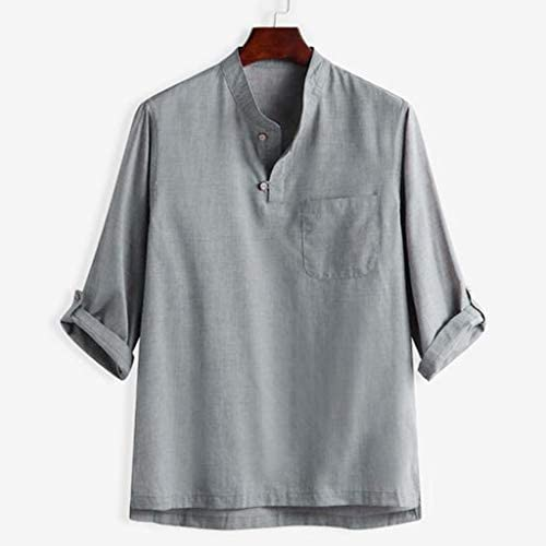 YpingLonk Camisa de algodón Marihuana de Moda para Hombre, Fresca ...