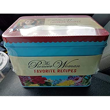 William Morrow Pioneer Woman Ree Drummond Favorite Recipes Tin with 100 Recipies