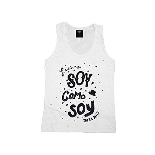 Cadenza Vagabundos: Camiseta de tirantes Estrella Blanco