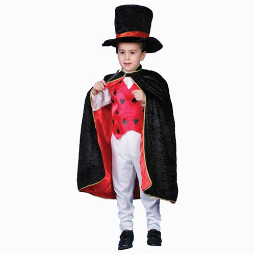 Deluxe Magician Dress up Costume Set - Large 12-14