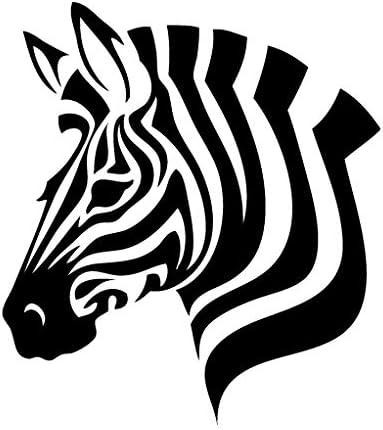Leon Online Box Zebra Head – Adhesivo de Vinilo para Coche ...