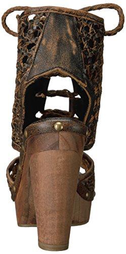 Sbicca Tinley Brown Sandal Women's Heeled ZB1ZzPq