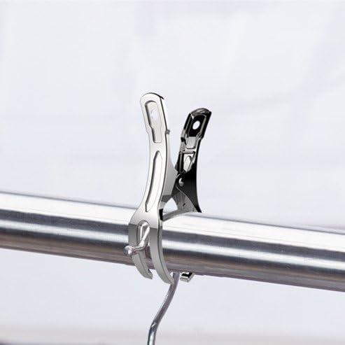 Clips de Serviette de Plage Pinces pour Serviette de Plage en Acier Inoxydable pour Serviette de Plage V/êtements Couette Serviette de Bain 12pack 8.5cm