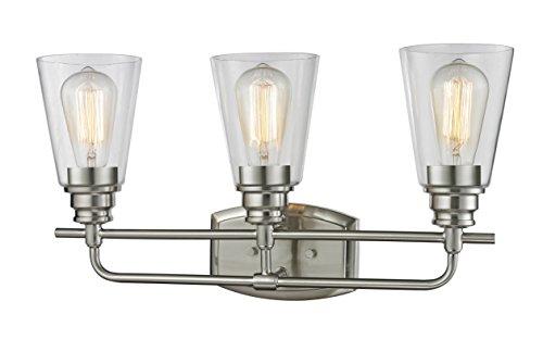 Z-Lite 428-3V-BN 3 Vanity Light - Harmony 3 Light Vanity