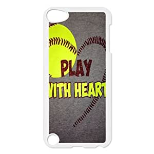 New Brand Case for iPod touch5 w/ I Like Baseball image at Hmh-xase (style 1)