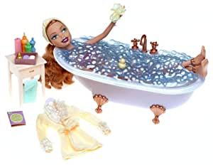 my scene in my tub kenzie doll new by barbie toys games. Black Bedroom Furniture Sets. Home Design Ideas