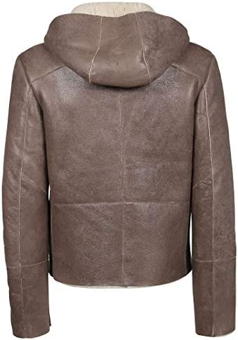 S.W.O.R.D 6.6.44 Luxury Fashion Uomo 5295TAUPE Grigio Pelle Giacca Outerwear | Autunno-Inverno 19  TDIna