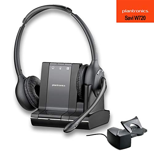 Bluetooth System Headset Usb (Plantronics Savi W720 Multi Device Wireless Headset System + HL10 Handset Lifter)