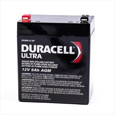 Duracell Ultra 12v 5 Amp Rechargeable SLA Battery