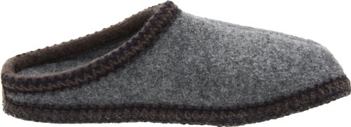 Haflinger Dames Als Wollen Indoor Slipper, Grijs, 40 Eu (us Womens 9 M)