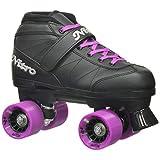 Epic Skates Epic Super Nitro Purple Quad Speed Roller Skates 9