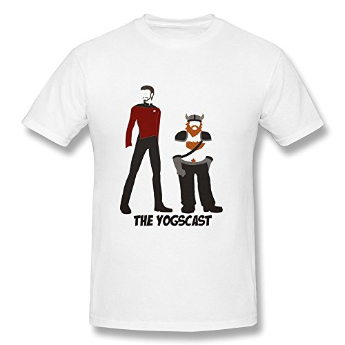 Kevin Durant Party Supplies (RZF Men's Minimalistic Yogscast T-Shirt-S)