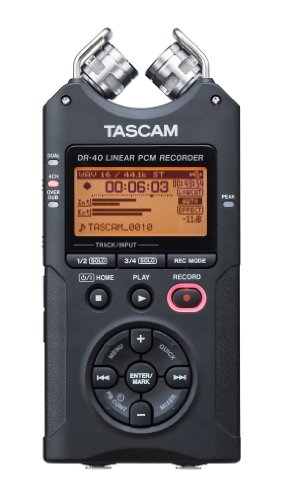 TASCAM DR-40 4-Track Portable Digital Recorder (4 Channel Field Mixer compare prices)