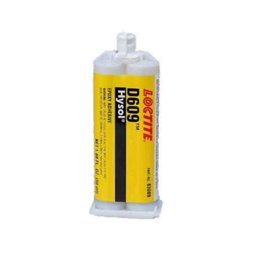 Loctite EA (Hysol) D609 Moisture & Chemical-Resistant 5-Min Seting Epoxy - 50ml/1.7oz cartridge
