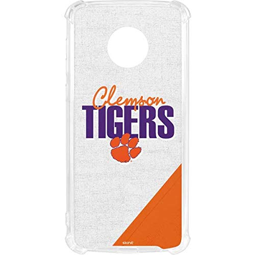 Skinit Clemson University Moto G6 LeNu Case - Clemson Tigers Design - Premium Vinyl Decal Phone Cover