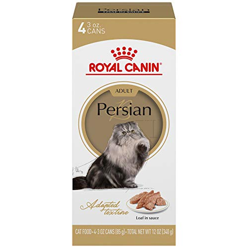 Royal Canin Persian Breed Loaf in Sauce Adult Wet Cat Food, 3 oz, 4-Pack