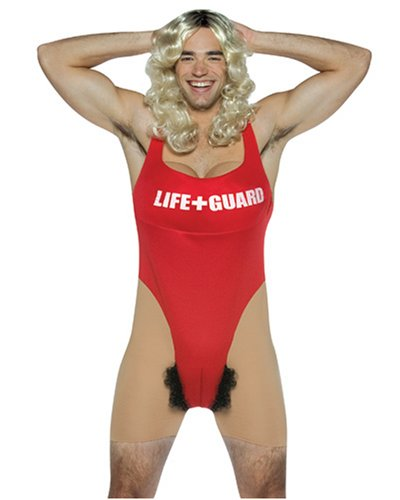 Anita Waxin Lifeguard Adult Costume - One Size]()