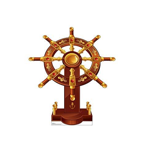Advanced Graphics Ship's Wheel Life Size Cardboard Cutout -